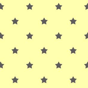 Yellow & Gray Stars