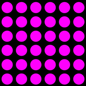 Danita's Pink Polka Dots on Black