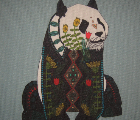 panda silver swatch