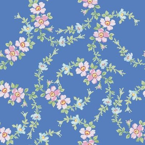 Lilla Wildflowers in blueberry