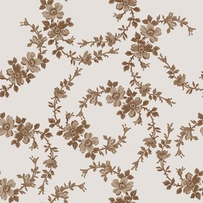Lilla Wildflowers in brown sugar