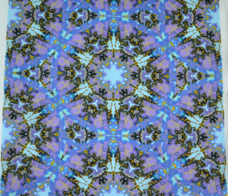 Marbelized Kaleidoscope Star, Lavender