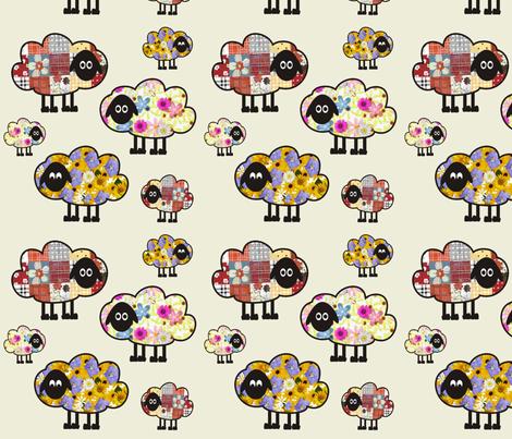 Floral Sheeps