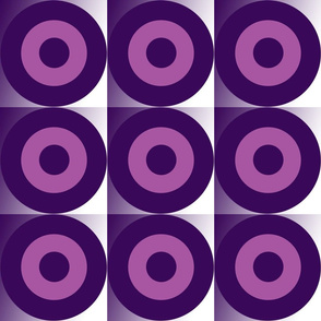Danita's Purple Bull's Eye