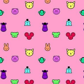 color animals
