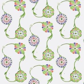 green flowers 2