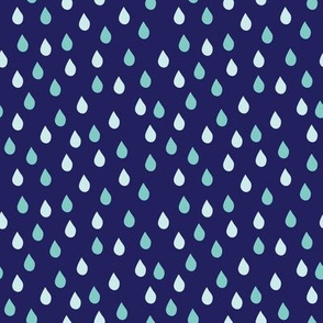 Raindrops Stormy (March)