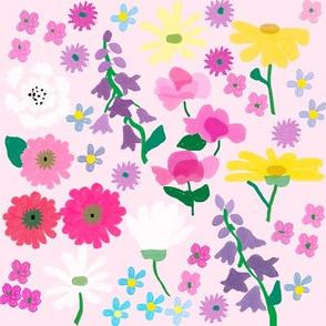 MyFlowerGardenLarge Pink