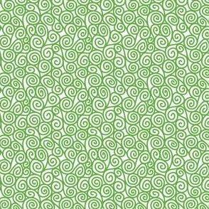 Spirals-Green