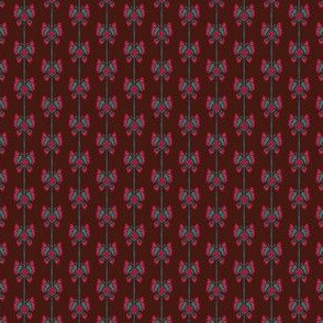 Verithe's Butterfly Stripe (Dark Red)