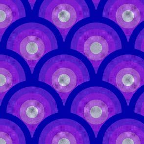 Scalloped Violet Sun
