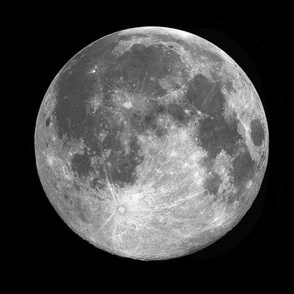 B&W supermoon