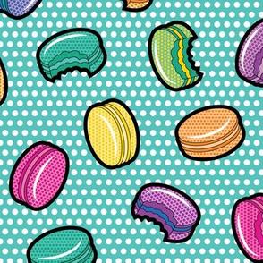 Lichtenstein Macarons - Teal