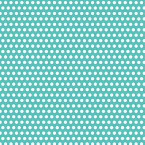 Lichtenstein Dots - Teal