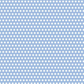 Lichtenstein Dots - Blue