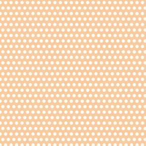 Lichtenstein Dots - Orange