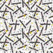 Geometric Modern Memphis Confetti 1