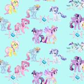 Crystal Ponies, MLP