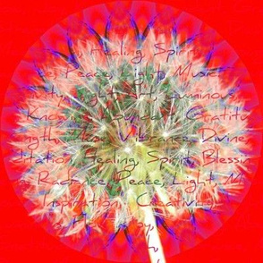 Dandelion Wishes For All  (Large Scale Print)