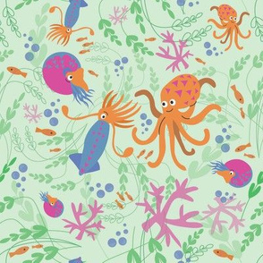Cephalopod Friends