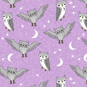 Night Owl - Lilac by Andrea Lauren