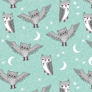 Night Owl - Mint by Andrea Lauren