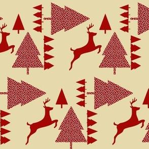 Reindeer red cream