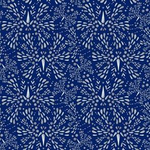 Silver Twinkle (Deep Blue)