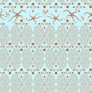 Starfish Glitz (Ice Blue)