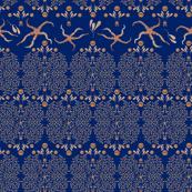 Starfish Glitz (Deep Blue)