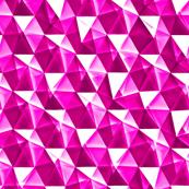 rhodolite garnet crystals