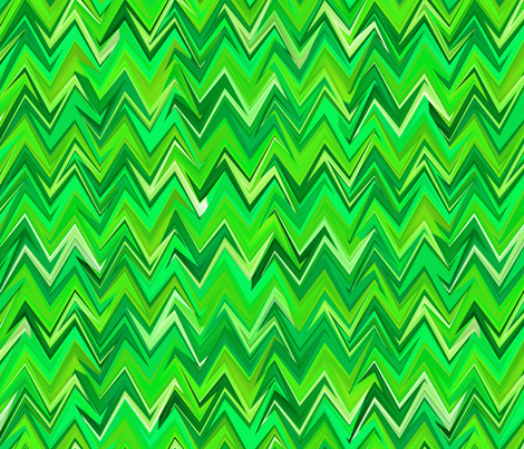 emerald chevron