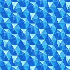 blue topaz crystals
