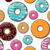 Large Donut Rain