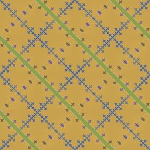 Morse Plaid (Yellow)