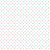macaron pattern on white