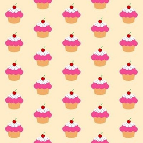 Cherry Cupcake Peach Color