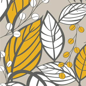 Leaves pattern 03
