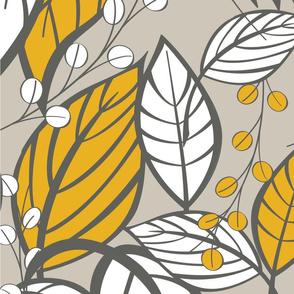 Leaves pattern 03
