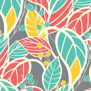 Leaves pattern 05
