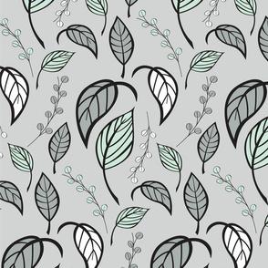 Leaves pattern 02