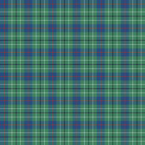 1/3 scale mini Duncan tartan - greyed