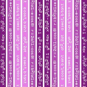 equation stripes : magenta purple