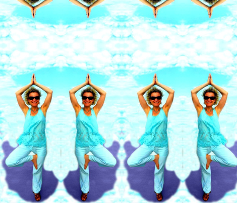Yoga for Happiness! (mirrored)