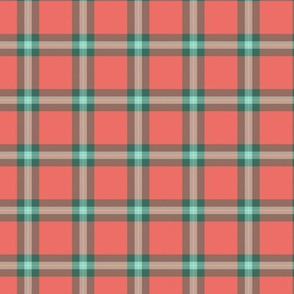 "small (1.5"") MacLaine greyed weathered tartan"