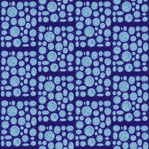 Blue microrganisms