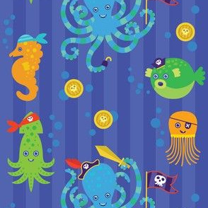 octopus pirates!