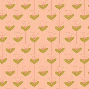 Flower Hearts Vintage