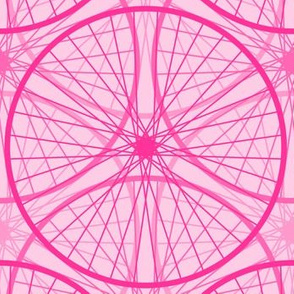 la roue en rose