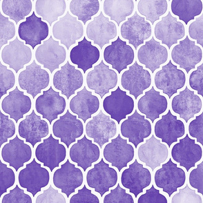 Textured Purple Moroccan
